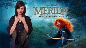 Nora Tschirner als Stimme von Merida | (c) pixar